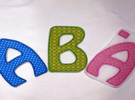 Buchstaben 14cm ABÄ