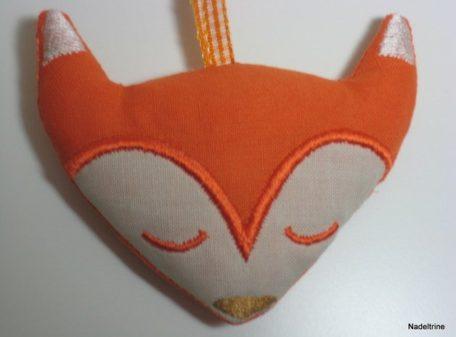 Fuchs Anhänger orange