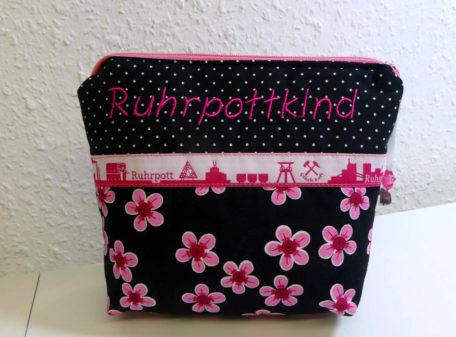 Ruhrpottkind Pink Kosmetiktasche