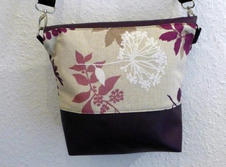 Tasche Blumen Rückseite