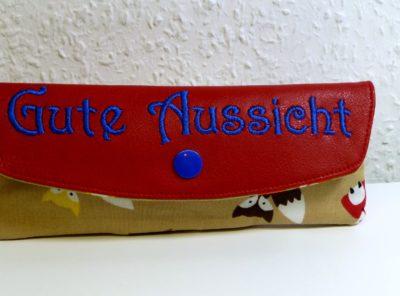 """Brillenetui """"Gute Aussicht"""" Füchse"""