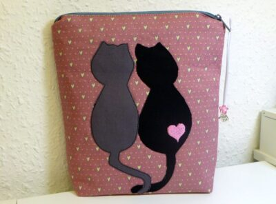 "Schminktäschchen ""Katzenliebe"" Katze – Cats"