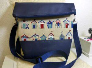 Handtasche Fold Over Strandhaus 1.1