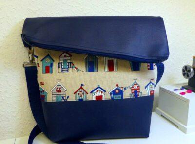 Handtasche Fold Over Strandhaus