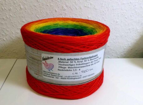 Bobbel Regenbogen Banderole 900