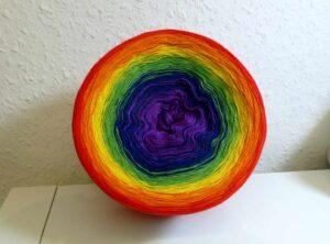Farbverlaufsgarn Regenbogen 900 m