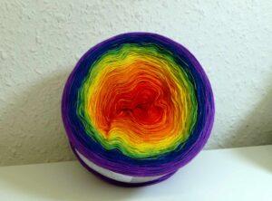 Farbverlaufsgarn Regenbogen 700m